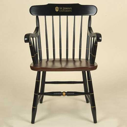 615789224273: St. John's University Captain's Chair by Hitchcock