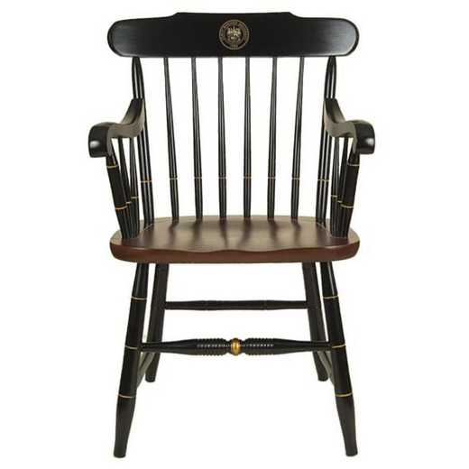 615789265184: James Madison University Captain's Chair by Hitchcock