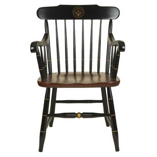 615789345398: Holy Cross Captain's Chair by Hitchcock