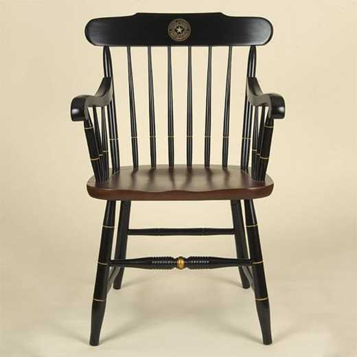 615789395980: Baylor University Captain's Chair by Hitchcock