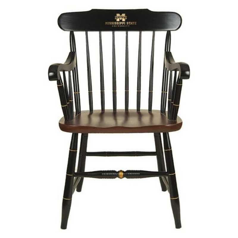 615789437383: Mississippi State Captain's Chair by Hitchcock
