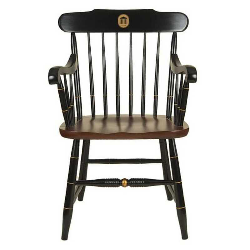 615789514039: University of Mississippi Captain's Chair by Hitchcock