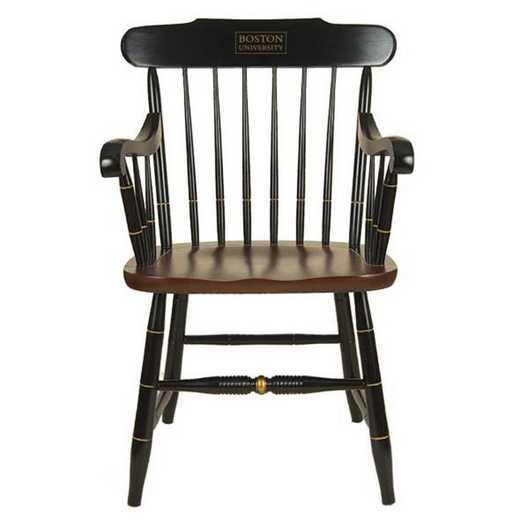 615789572183: Boston University Captain's Chair by Hitchcock