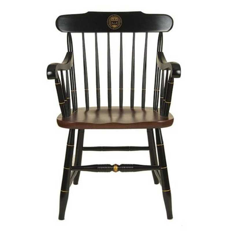 615789612834: Boston College Captain's Chair by Hitchcock