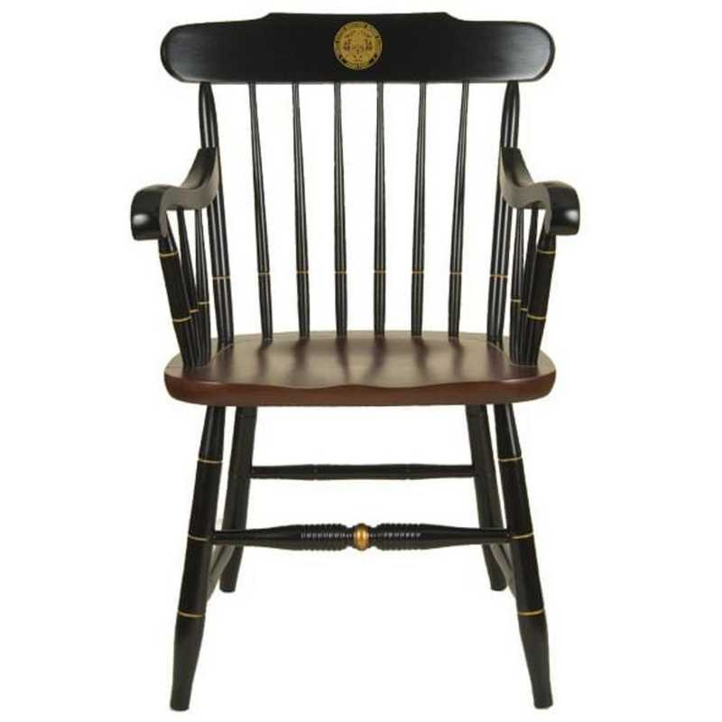615789612865: US Merchant Marine Academy Captain's Chair by Hitchcock