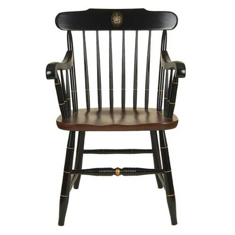 615789658870: University of Tennessee Captain's Chair by Hitchcock