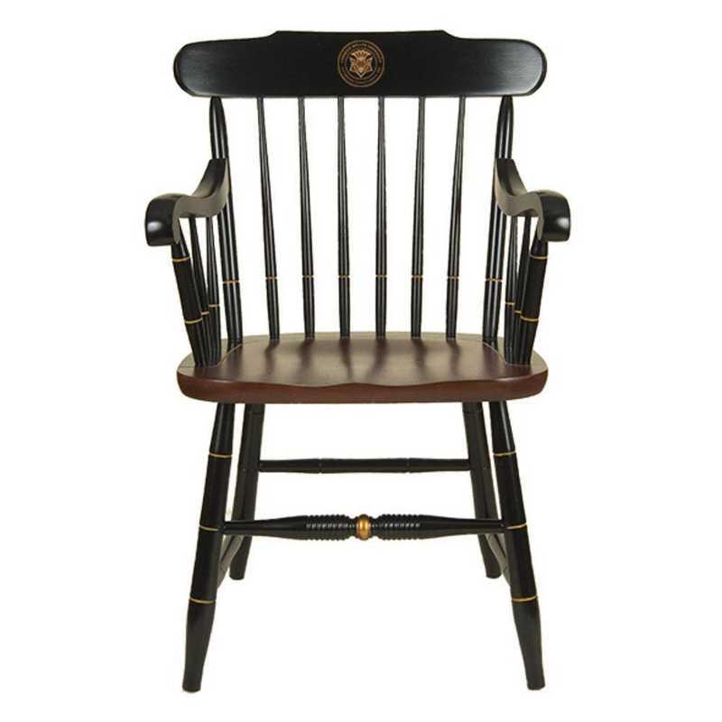 615789707769: Carnegie Mellon University Captain's Chair by Hitchcock