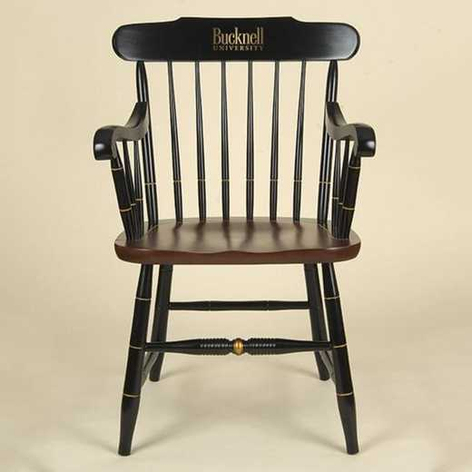 615789809531: Bucknell University Captain's Chair by Hitchcock