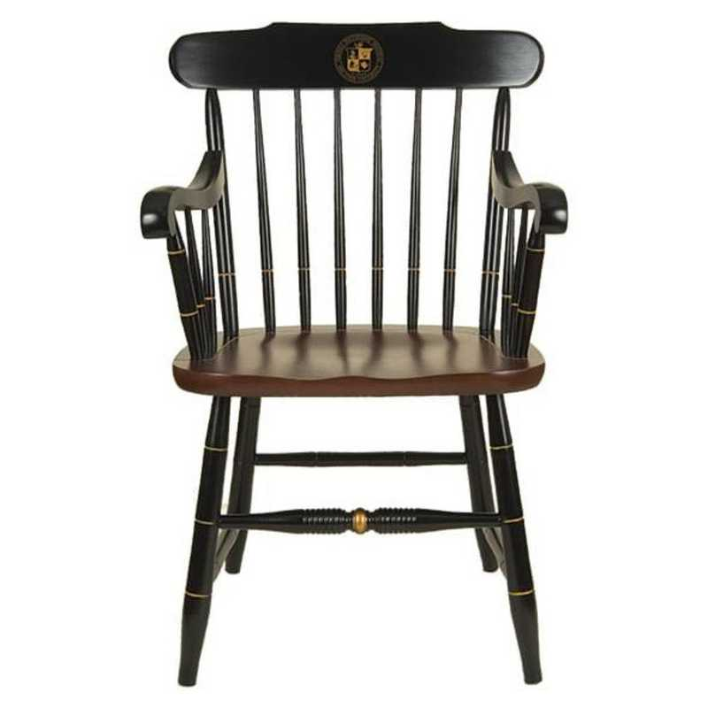 615789815679: Virginia Tech Captain's Chair by Hitchcock