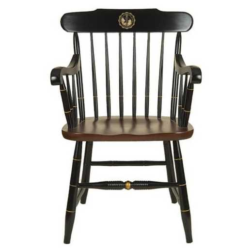 615789933557: North Carolina State Captain's Chair by Hitchcock