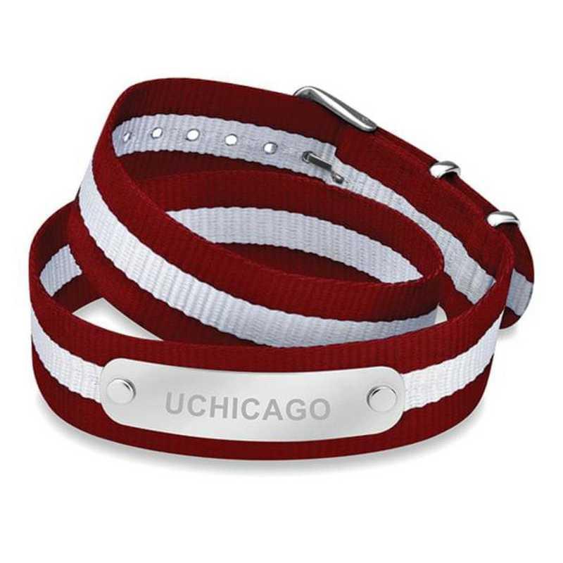 615789022114: Chicago (Size-Medium) Double Wrap NATO ID Bracelet