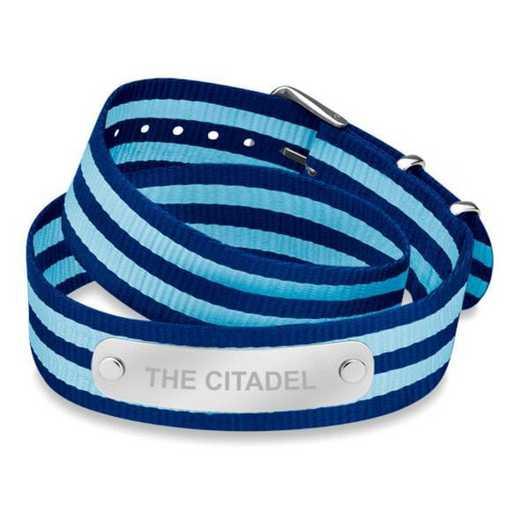 615789080893: Citadel (Size-Large) Double Wrap NATO ID Bracelet