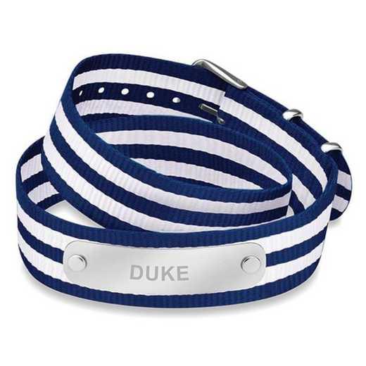 615789456445: Duke (Size-Large) Double Wrap NATO ID Bracelet
