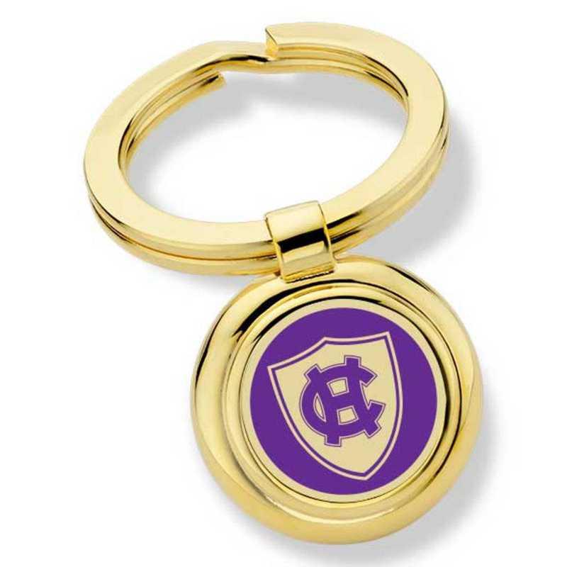 615789028284: Holy Cross Enamel Key Ring by M.LaHart & Co.