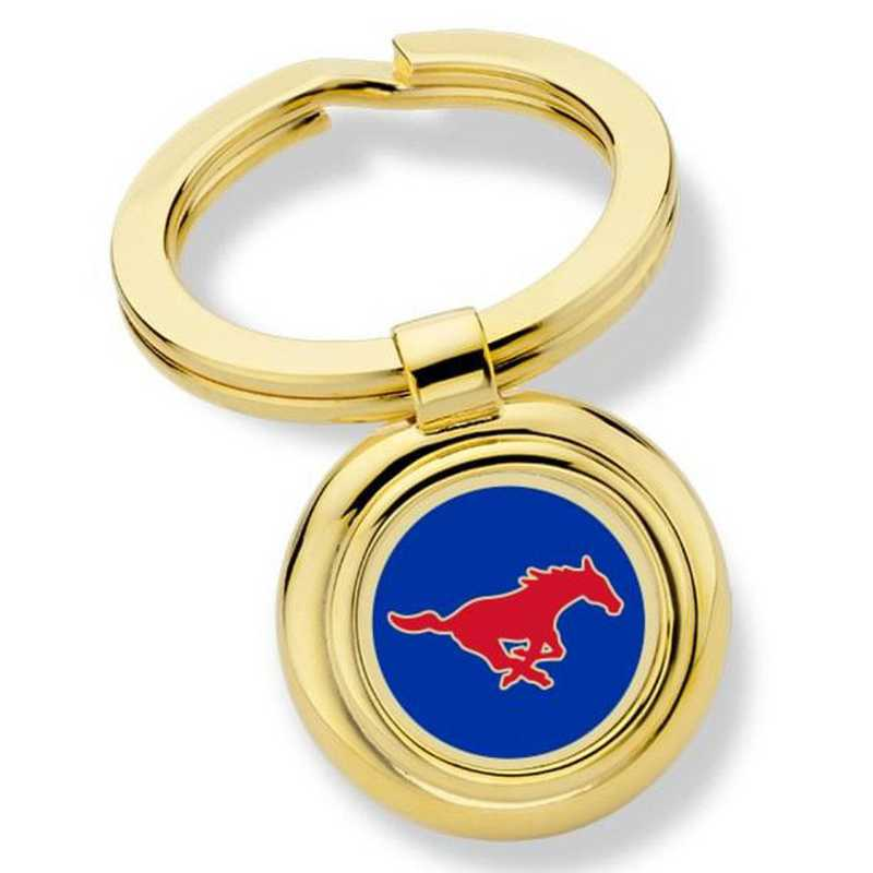 615789122470: Southern Methodist University Key Ring by M.LaHart & Co.