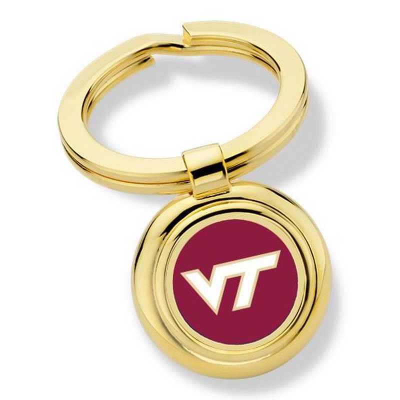 615789165491: Virginia Tech Key Ring by M.LaHart & Co.