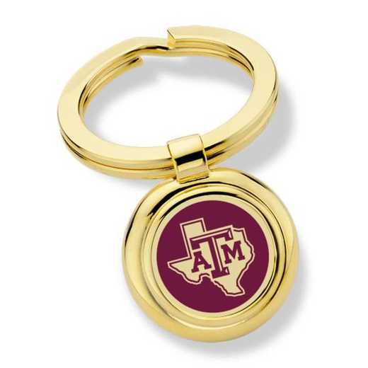 615789208532: Texas A&M University Key Ring by M.LaHart & Co.