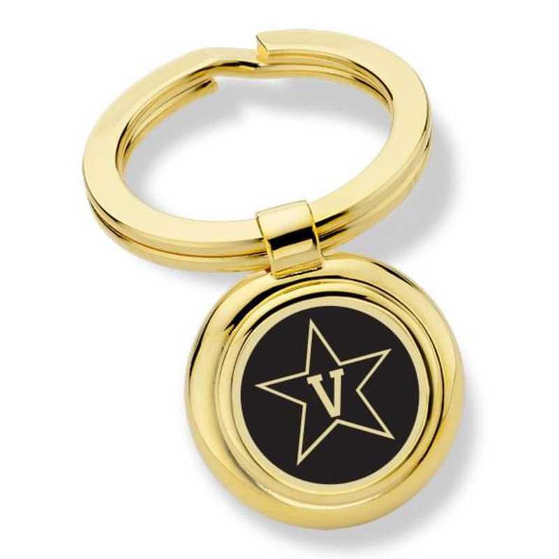 615789235255: Vanderbilt University Key Ring by M.LaHart & Co.