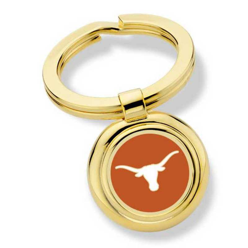 615789289586: University of Texas Enamel Key Ring by M.LaHart & Co.