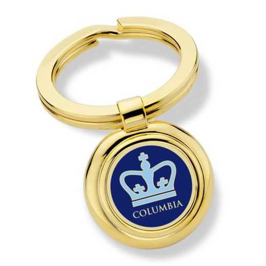 615789431619: Columbia University Key Ring by M.LaHart & Co.