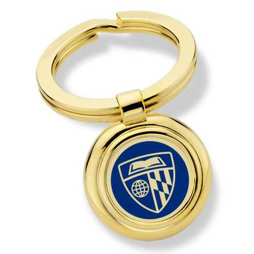 615789614357: Johns Hopkins University Key Ring by M.LaHart & Co.
