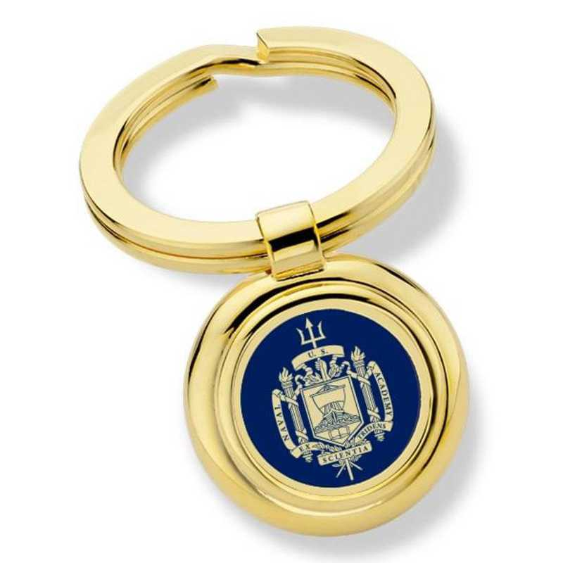615789710318: US Naval Academy Key Ring by M.LaHart & Co.