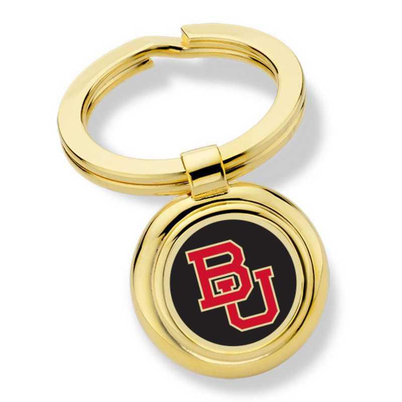 615789749837: Boston University Enamel Key Ring by M.LaHart & Co.