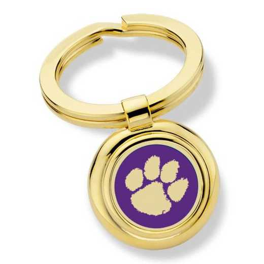 615789816898: Clemson Key Ring by M.LaHart & Co.