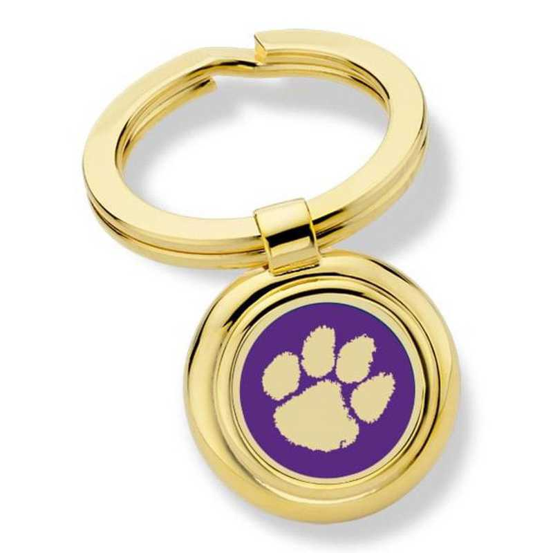 615789816898: Clemson Key Ring by M.LaHart & Co.