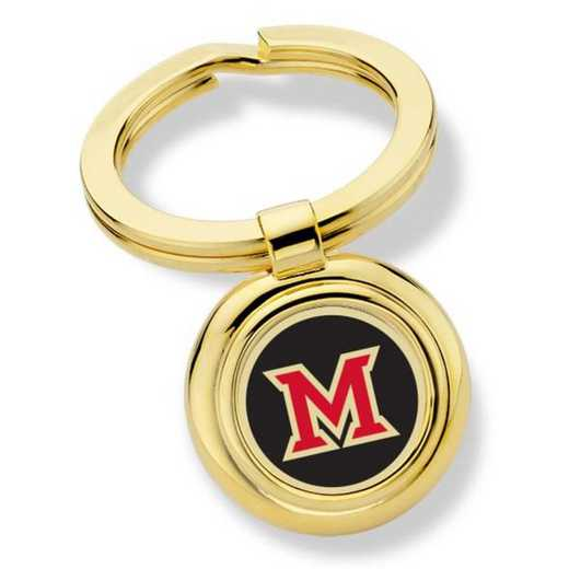 615789825760: Miami University in Ohio Key Ring by M.LaHart & Co.
