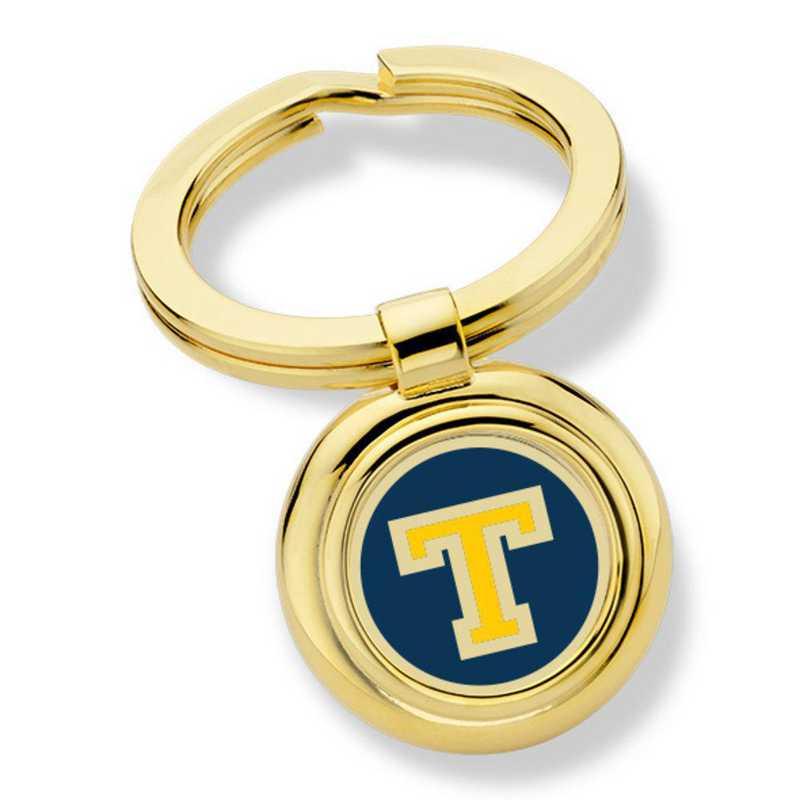 615789933816: Trinity College Enamel Key Ring by M.LaHart & Co.