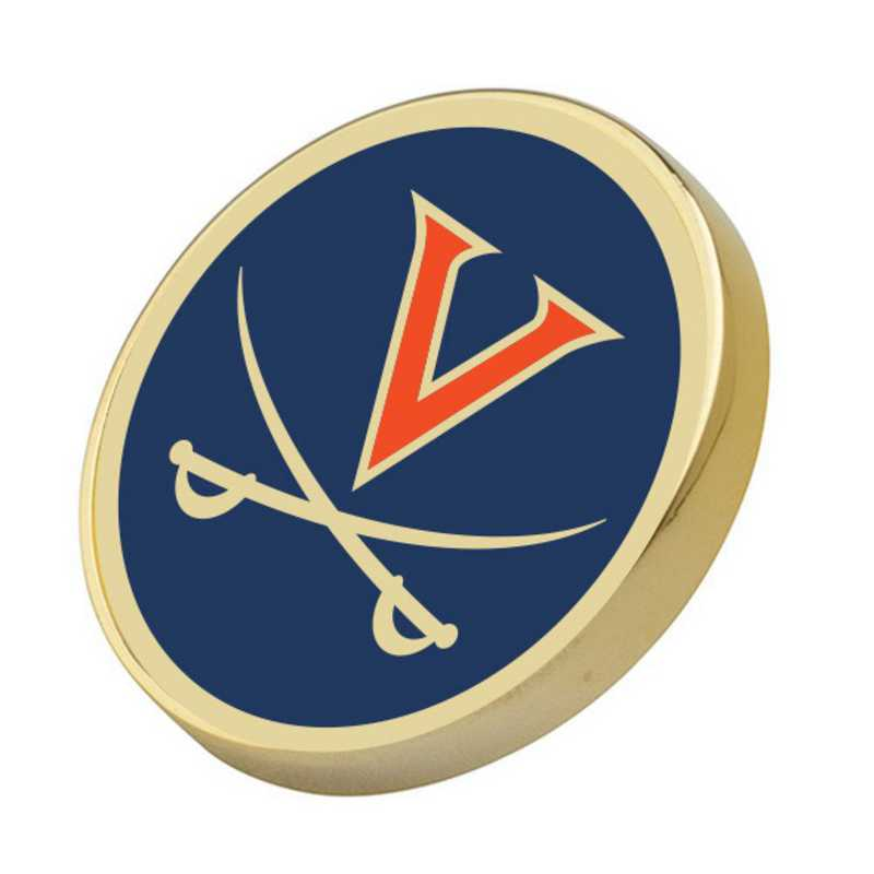 615789250142: University of Virginia Enamel Lapel Pin