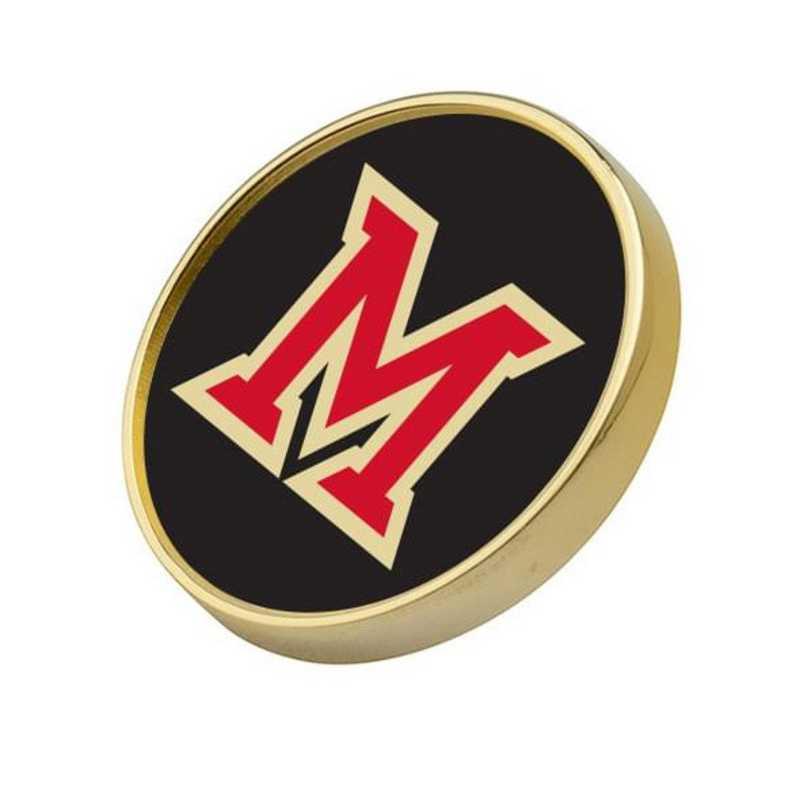 615789499213: Miami University Lapel Pin
