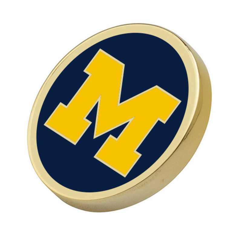 615789514510: University of Michigan Enamel Lapel Pin