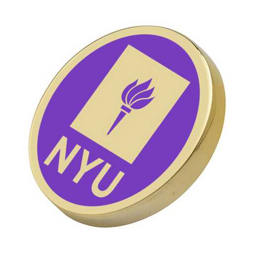 615789604877: New York University Enamel Lapel Pin