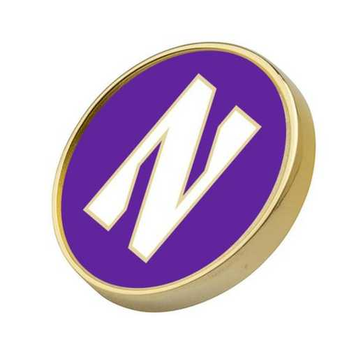 615789679509: Northwestern Lapel Pin