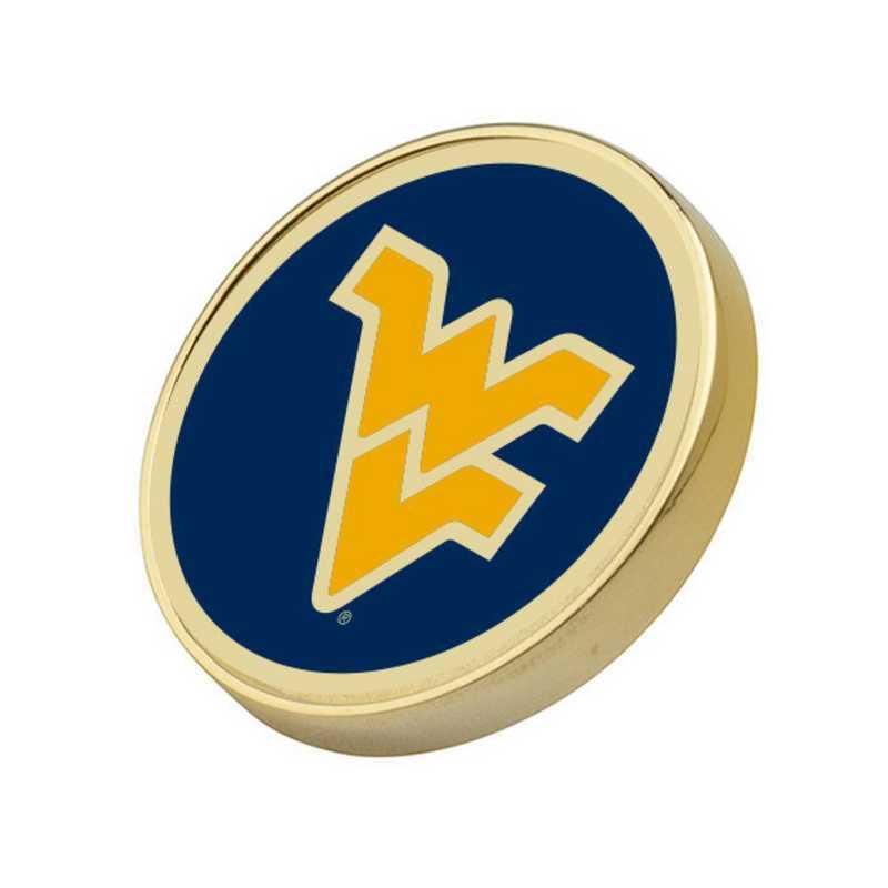 615789997191: West Virginia University Enamel Lapel Pin