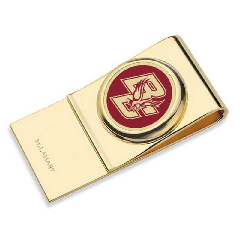 615789055334: Boston College Enamel Money Clip