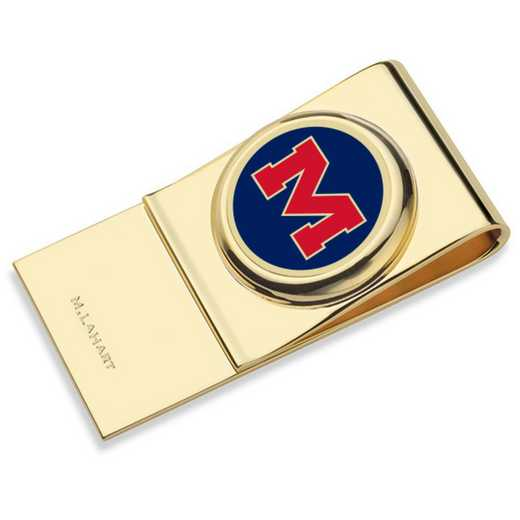 615789348641: Ole Miss Enamel Money Clip