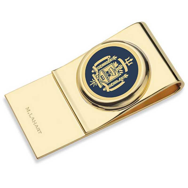 615789378310: US Naval Academy Enamel Money Clip
