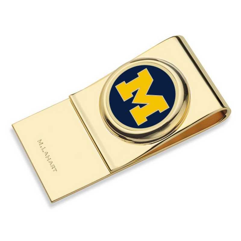 615789475934: University of Michigan Enamel Money Clip