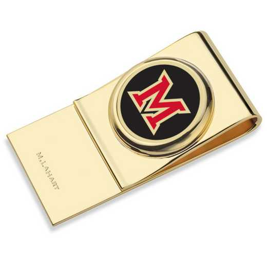 615789576839: Miami University in Ohio Enamel Money Clip
