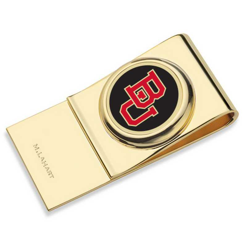 615789729921: Boston University Enamel Money Clip