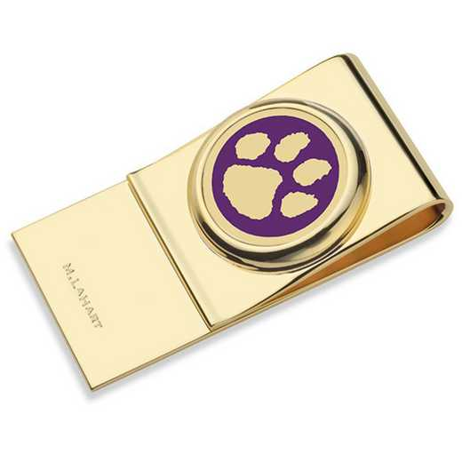 615789756705: Clemson Enamel Money Clip