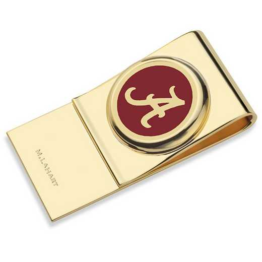 615789793090: University of Alabama Enamel Money Clip