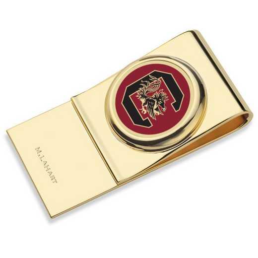 615789813705: University of South Carolina Enamel Money Clip