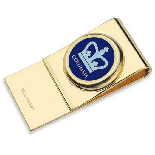 615789835417: Columbia University Enamel Money Clip