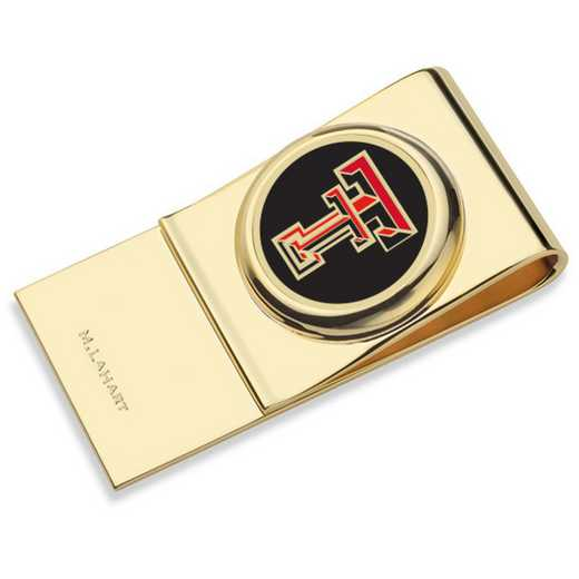 615789858102: Texas Tech Enamel Money Clip
