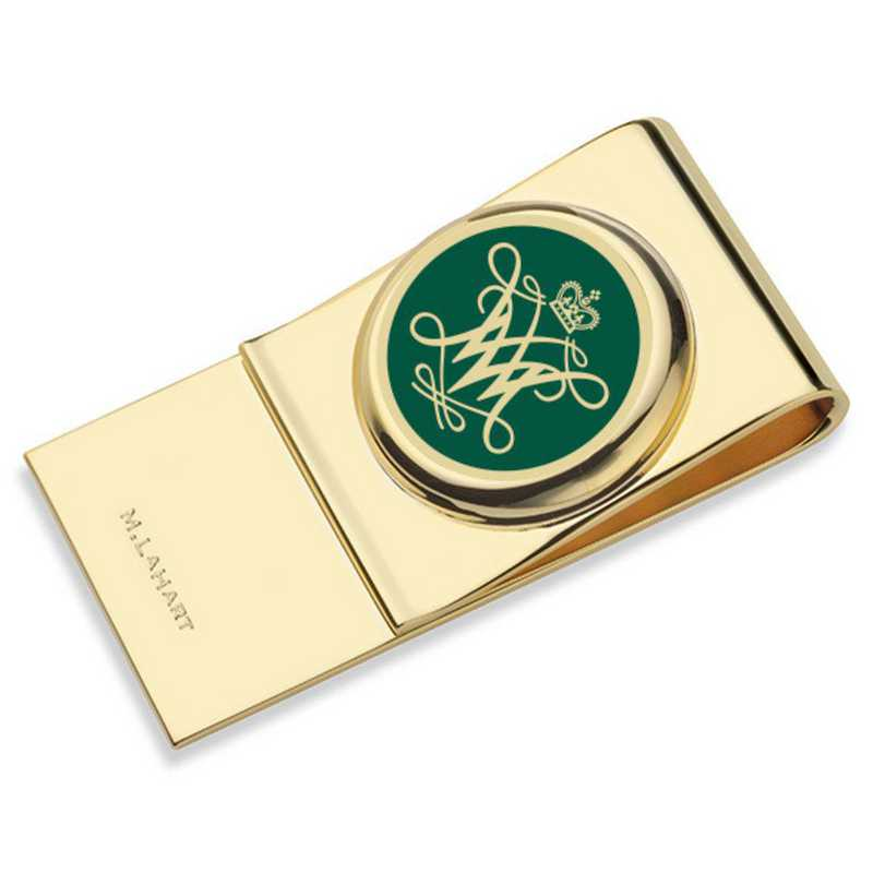615789869160: College of William & Mary Enamel Money Clip