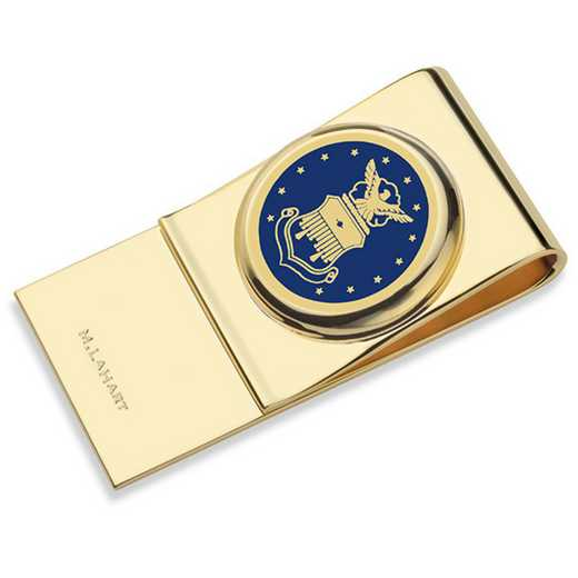 615789921011: US Air Force Academy Enamel Money Clip